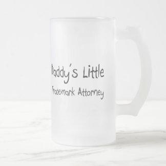 Daddy's Little Trademark Attorney Coffee Mug