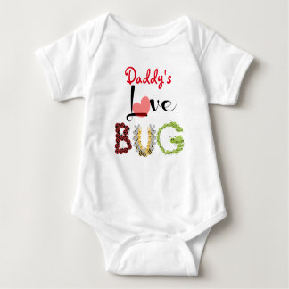 Daddy's Love Bug, Cute & personalized! Baby Bodysuit