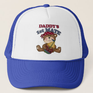 Daddy's Pirate 1st Mate Trucker Hat