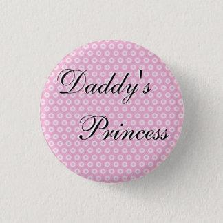 Daddy's Princess 3 Cm Round Badge