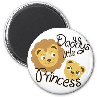 Daddys Princess 6 Cm Round Magnet