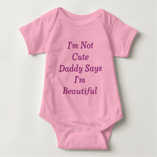 Daddy's princess baby bodysuit