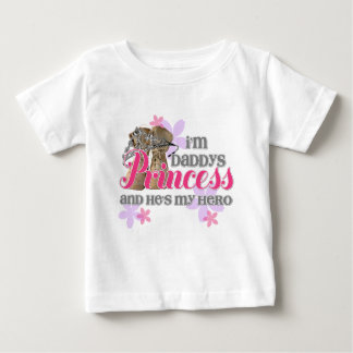 Daddys Princess Baby T-Shirt