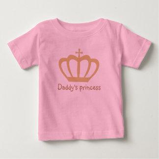 Daddy's princess crown baby T-Shirt