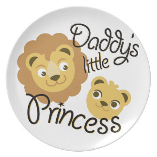 Daddys Princess Dinner Plate