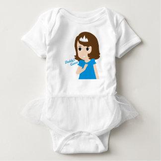 Daddy's Queen Baby Version Baby Bodysuit