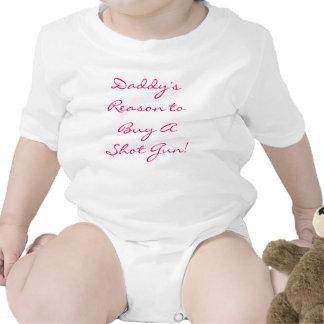 Daddy's Reason to Buy A Shot Gun! Tee Shirt