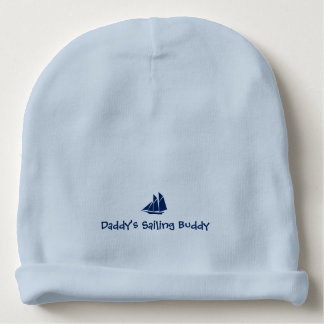 """Daddy's Sailing  Buddy"" Baby Beanie"