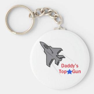 DADDYS TOP GUN KEY CHAINS