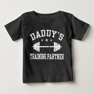 Daddy's Training Partner Baby T-Shirt