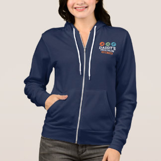Daddy's Triathlon Cheer Team Hoodie