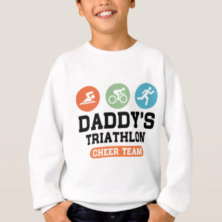 Daddy's Triathlon Cheer Team Sweatshirt