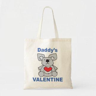 Daddy's Valentine Tote Bag