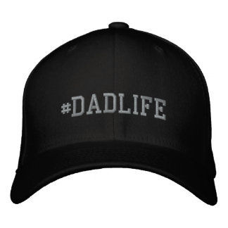 DadLife Embroidered Basic Flexfit Wool Cap
