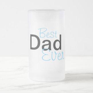 DadMug Frosted Glass Mug