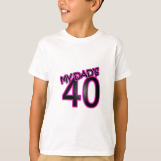 Dad's 40th Birthday Gifts T-Shirt
