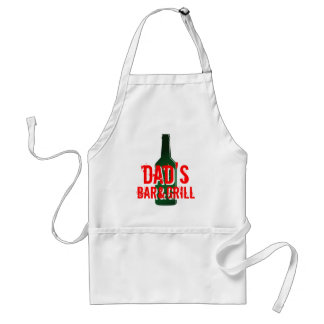 Dad's Bar &Grill Apron   Funny Father's Day gift