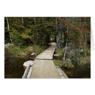Dad's Birthday Wish-Wooden Path Card