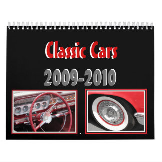 Dad's Classic Cars Calendar
