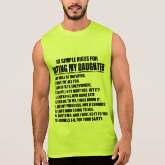 Dad's Dating Rules Sleeveless Shirt