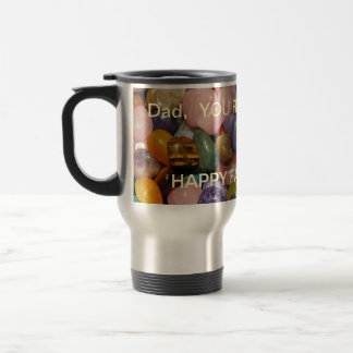 Dad's Father's Day Travel Mug Dad You Rock!