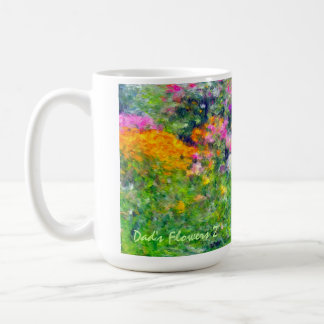Dad's Flowers Mug 2