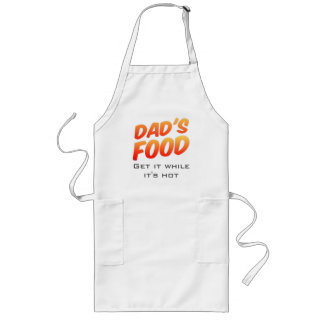 Dad's Food Novelty Customisable Apron