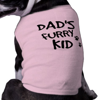Dad's Furry Kid Shirt