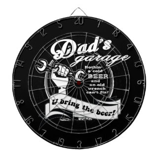 Dad's Garage Bring Beer Dartboard