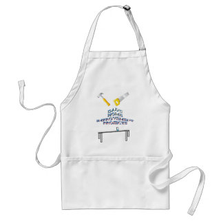 Dad's home improvements projects handyman apron
