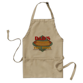 Dad's Hot Dogs Aprons
