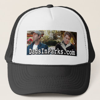 Dads In Parks - Jamie & Jeff Trucker Hat