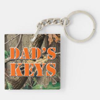 """'Dad's Keys"""" keychain"""
