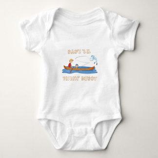 "Dad's ""Lil Fishin' Buddy Baby Bodysuit"