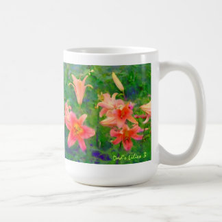 Dad's Lilies 3 Mug