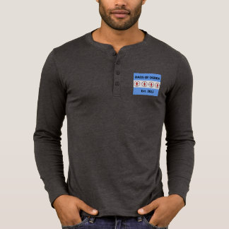 Dads of Ogden Button Front Long Sleeved T T-Shirt