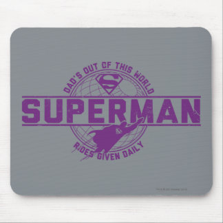 Dad's Out of this World Mousepad