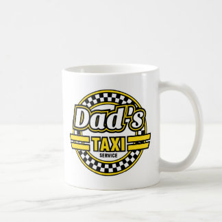 Dad's Taxi Service Mug - Ideal Father's Day Gift