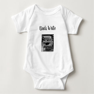 Dads Write Baby Bodysuit
