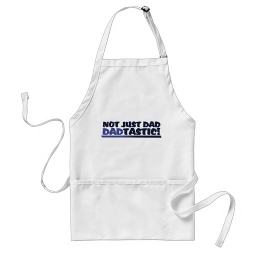 Dadtastic funny fathers day apron