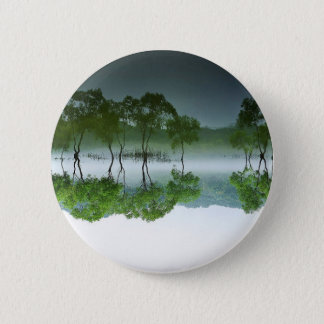 daechung asian nature elements 6 cm round badge