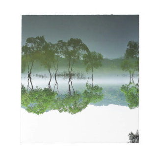 daechung asian nature elements notepad