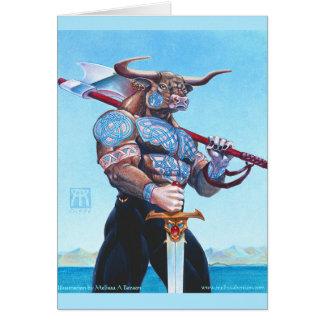 Daedalus Minotaur of Crete Card