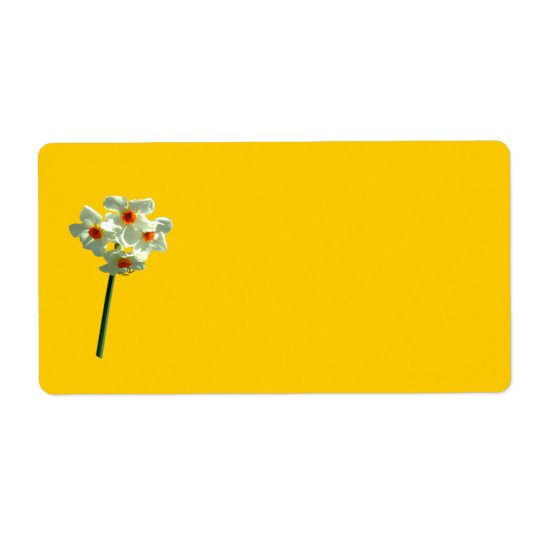 Daffodil Avery Label