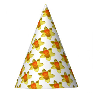 Daffodil (Background Removed) Party Hat
