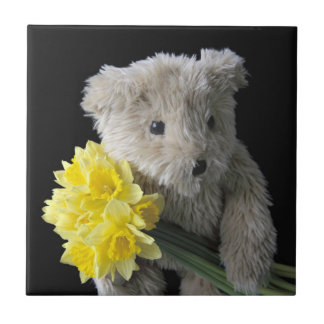 daffodil bear tile