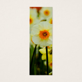 Daffodil Bookmark Mini Business Card