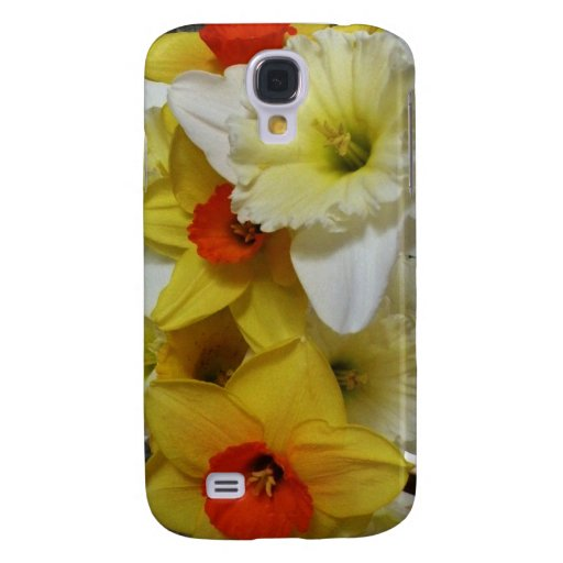 Daffodil Bouquet - Floral Scenes iPhone 3G/3GS Cas Samsung Galaxy S4 Covers