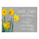 Daffodil Bridal Shower Invitations