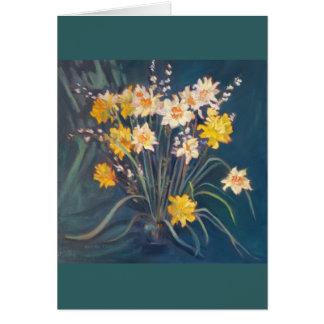 Daffodil Display Card
